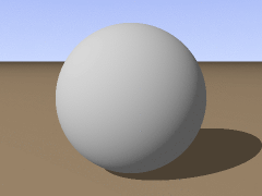 An example of ambient and diffuse lighting. Source: http://commons.wikimedia.org/wiki/File:Wikibooks_povray_colors_transparent_sphere.gif